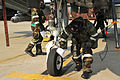 AFE helps 25th FS suit up for CBRN exercise 140115-F-FM358-201.jpg