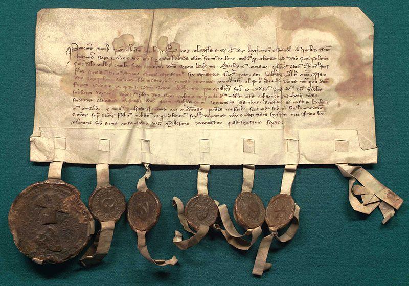 File:AGAD Polish-Teutonic armistice of 1334.jpg