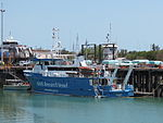 AIMS Research Vessel docked at Fisherman's Wharf.jpg