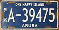 ARUBA 2010 -LICENSE PLATE - Flickr - woody1778a.jpg