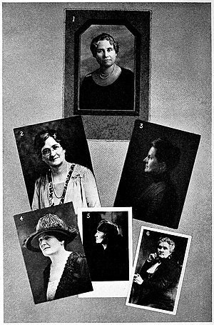 Amy B. Lyman - Alice Louise Reynolds, Amy Brown Lyman, Grace Raymond Hebard, Mrs. Weston Vernon, Ruth Moench Bell Susa Young Gates