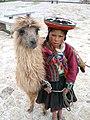 A Quechua girl and her Llama.jpg