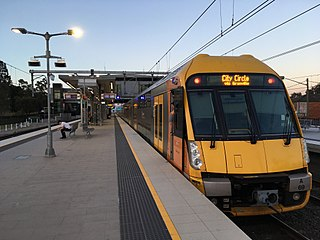 Inner West & Leppington Line rail service in Sydney, New South Wales, Australia