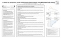 A Vision for performing Social and Economic Data Analysis using Wikipedia's edit history (poster).pdf