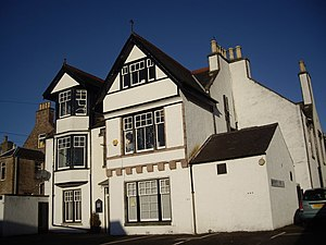 English: A commercial property in Banchory Bet...