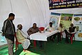 A free medical camp organised by the Central Unani Medical Institute, at the Bharat Nirman Public Information Campaign, organised by PIB Lucknow, at Dalmau, District Rai Barely (U.P.) on November 19, 2013.jpg