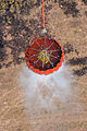 A helicopter bucket is used by a U.S. Army CH-47 Chinook helicopter crew assigned to the 2nd Battalion, 135th Aviation Regiment, Colorado Army National Guard to help fight the East Peak wildfire near La Veta 130621-Z-UA373-282.jpg