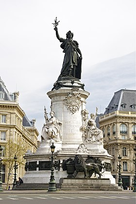 Image illustrative de l'article Monument à la République