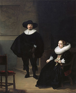 <i>A Lady and Gentleman in Black</i> stolen painting by Rembrandt