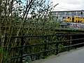 A view on the railway railway embankment on the east side of Amsterdam city; FotoDutch, April 2013.jpg