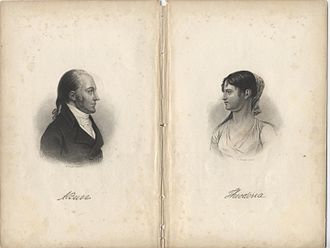 Aaron Burr - Aaron and Theodosia Burr