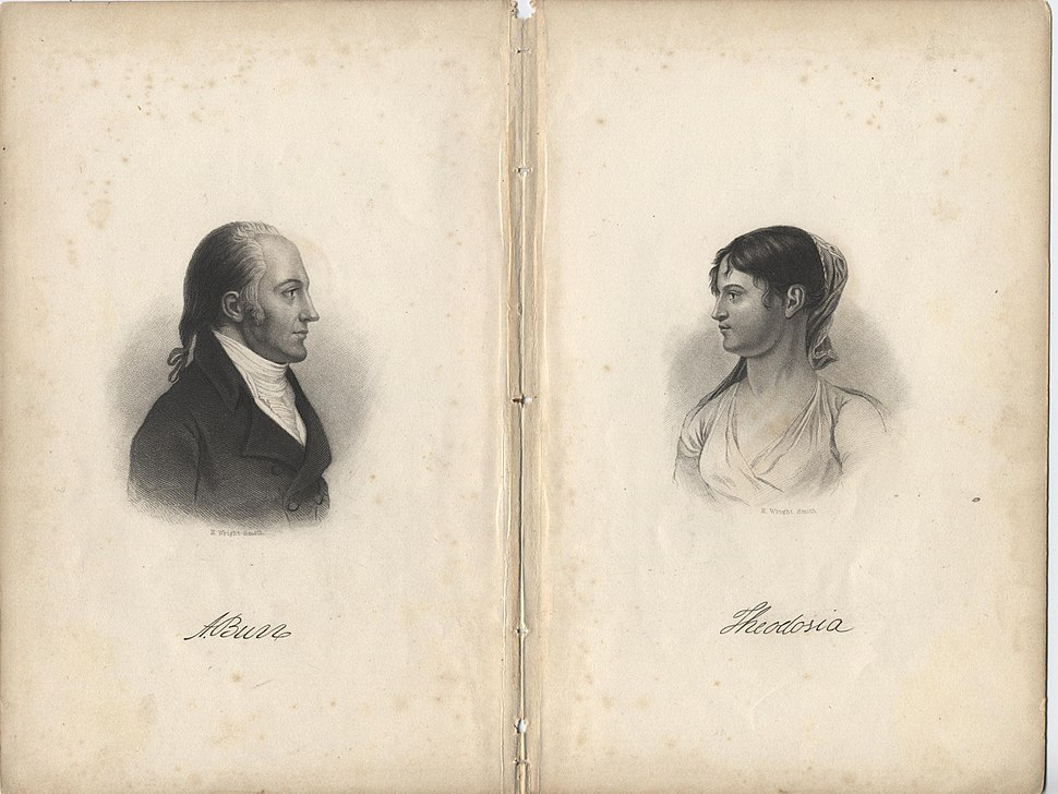 Aaron and Theodosia Burr