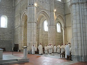 "Cistercian architecture - The ""architecture of light"" of Acey Abbey represents the pure style of Cistercian architecture, intended for the utilitarian purposes of liturgical celebration."
