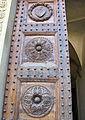 Abbazia di passignano, portale del xv sec del monastero 04.JPG