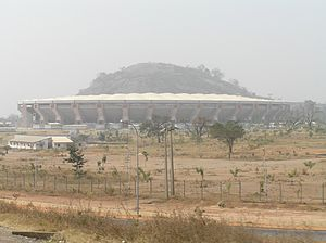 National Stadium, Abuja - External view