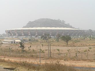 National Stadium, Abuja - External view