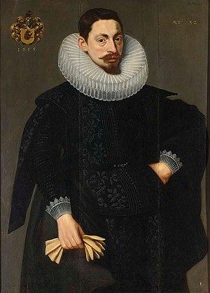 Adam van Noort - Portrait of a bearded man