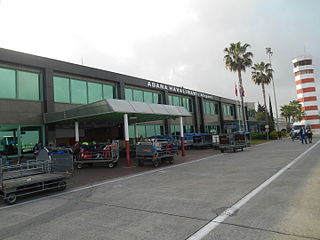 Adana Şakirpaşa Airport international airport in Adana, Turkey