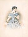 Adolf Dauthage Bildnis einer Dame in blauem Kleid 1854.jpg