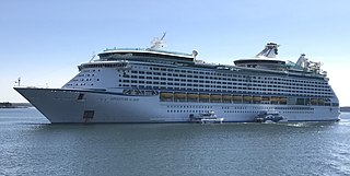 <i>Adventure of the Seas</i> Voyager-class cruise ship