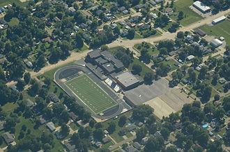 Falls City, Nebraska - Falls City High School