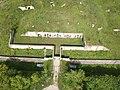 Aerial photograph of batterie de Sermenaz - Neyron - France (drone) - May 2021 (9).JPG