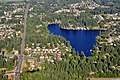 Aerial view of Star Lake, King County, Washington from the west 01 - white balanced (9792400515).jpg
