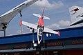 Aero Vodochody L-39ZO Albatros Above SATM 05June2013 (14598693544).jpg