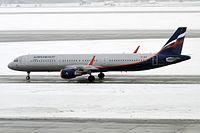 VP-BEA - A321 - Aeroflot