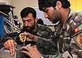 Afghan National Army Radio Maintentance Course Underway (4947709246).jpg
