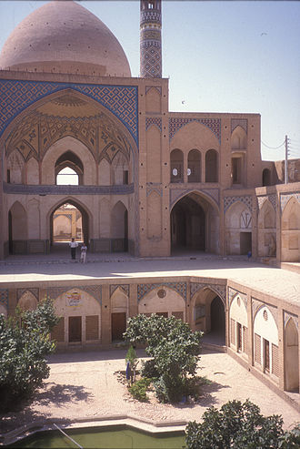 Isfahan Province - Kashan is another cultural jewel of the province. Seen here is the Agha Bozorg Mosque.
