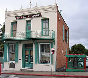 National Register of Historic Places listings in San Luis Obispo County, California - Image: Ah Louis Store