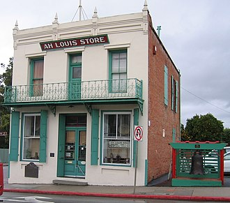 California Historical Landmarks in San Luis Obispo County, California - Image: Ah Louis Store