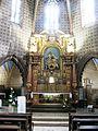 Aignan Église Saint-Jacques de Fromentas abside et maître-autel.JPG