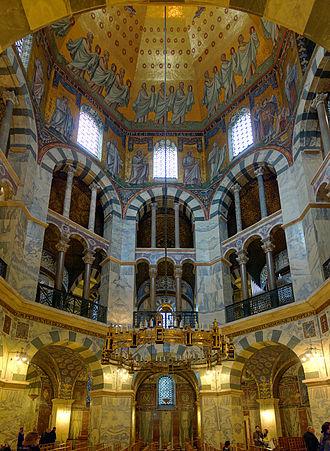 Palatine Chapel, Aachen - Interior view