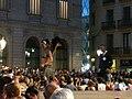 Ajuntament - Arribada de la xambanga de gegants P1160538.JPG