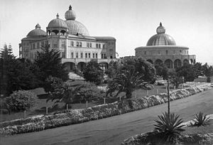 Theosophy (Blavatskian) - The Raja Yoga Academy and the Temple of Peace, c. 1915