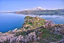 1d517e7bc7 General view of Akdamar Island in springtime.