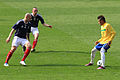 Alan Hutton, Scott Brown and Neymar.jpg