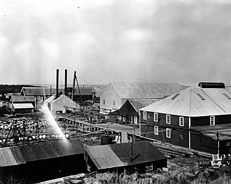 Egegik, Alaska - Alaska Packers Association cannery at Egegik, 1917