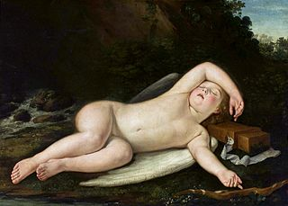 Sleeping Cupid.