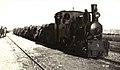 Albania - treno sulla ferrovia Decauville di Valona, 1915 (01).jpg
