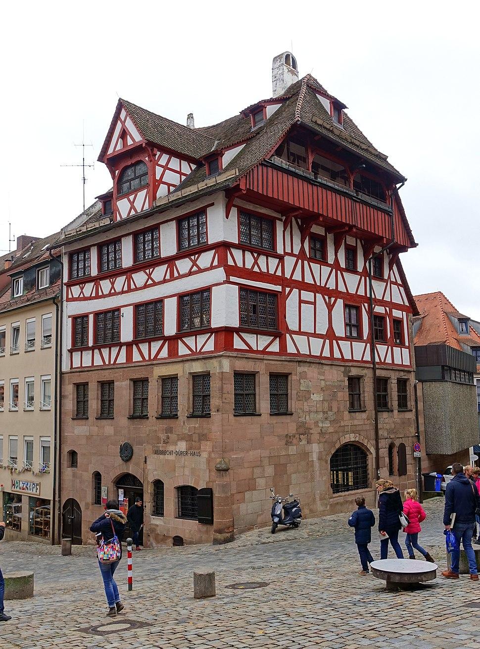 Albrecht-Dürer-Haus - Tiergärtnerplatz - Nuremberg, Germany - DSC02033