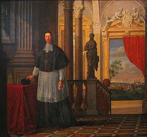 Bishops of Freising and Archbishops of Munich and Freising - Prince-bishop Albert Sigismund of Bavaria (1675painting)