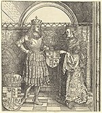 Albrecht Dürer, The Betrothal of Maximilian with Mary of Burgundy, 1511, NGA 47901.jpg
