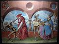 Albrecht kauw, copia della perduta danza macabra di m.manuel del cimitero domenicano di berna (1512-20), 1649, 04.JPG