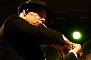 Alexander Bălănescu - Bălănescu at TFF Rudolstadt in 2013.