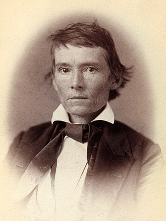 Alexander H. Stephens, Confederate Vice President; author of the 'Cornerstone Speech' Alexander H Stephens by Vannerson, 1859.jpg