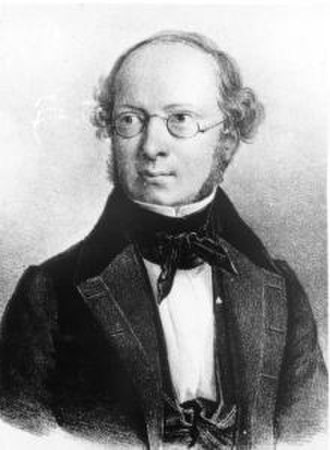 Alexander Georg von Bunge - Alexander von Bunge. Lithograph by Eduard Hau