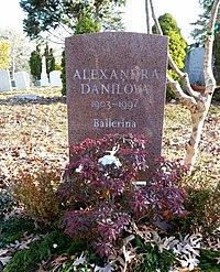 Alexandra Danilova gravestone.jpg